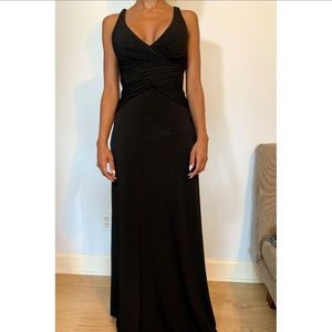 LAUNDRY Black Gown